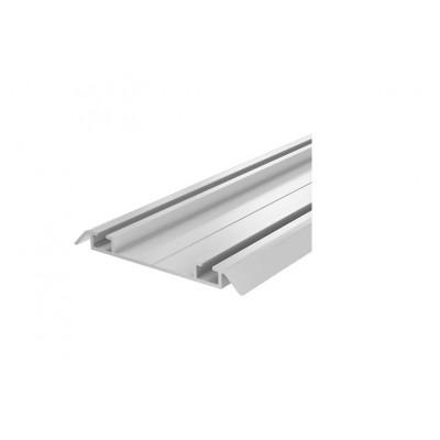 Алуминиева долнa релса за механизъм за плъзгащи врати SFT 005 - ALBATUR - Цена: 19.20 лв.