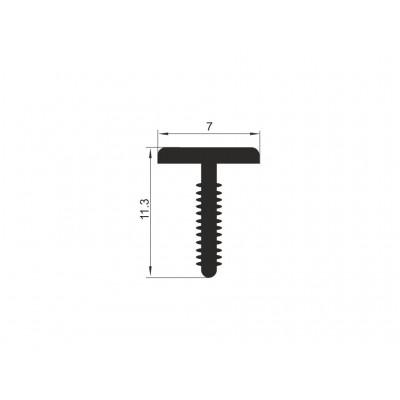Ал.профил 1023 С Т-образен 3000мм - Цена: 4.20 лв.