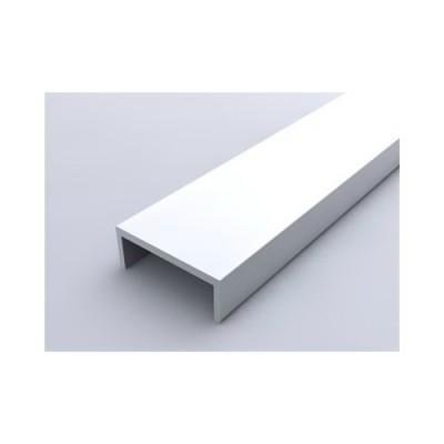 Алуминиев П - образен профил за обкантване на ПДЧ симетричен - Цена: 6.30 лв.