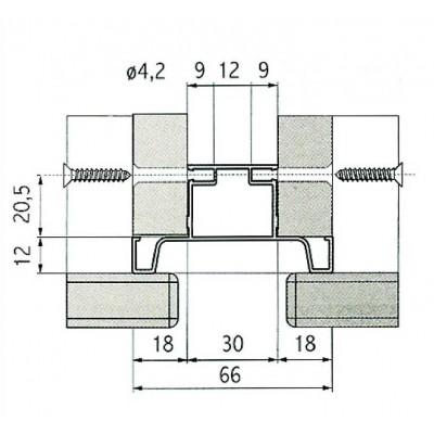 Профил вертикален, L = 4,7 M - VOLPATO ITALY - Цена: 70.56 лв.