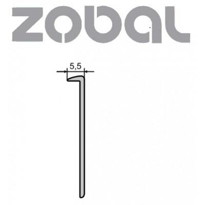 Кант алуминиев за термоплот без перо 3500 мм - ZOBAL - Цена: 24.00 лв.
