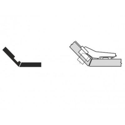 Мебелна панта CLIP top врата и страница под ъгъл +45° - BLUM - Цена: 6.50 лв.