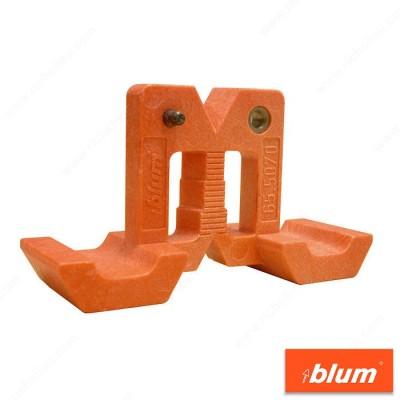 Шаблон за пробиване на отвори за монтажни пластини - BLUM - Цена: 28.66 лв.
