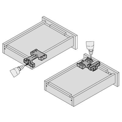 Шаблон за пробиване за TANDEM/MOVENTO (със заключване) - BLUM - Цена: 51.70 лв.