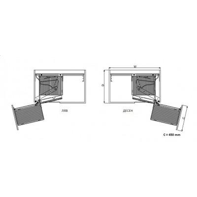 Изтегляща се система за сляп ъгъл - STARAX - Цена: 343.20 лв.