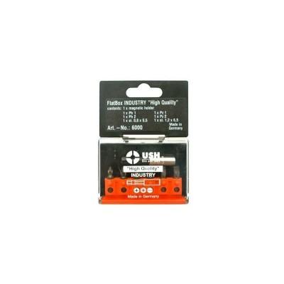 Комплект FLATBOX 6 бита и магнитен държател USH - Цена: 13.50 лв.