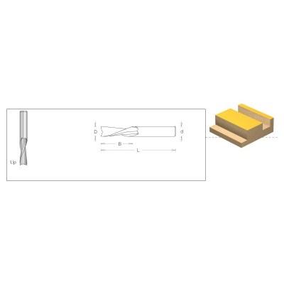 173.41.55 CNC Свредло D5X15 L50 d8 DIMAR - Цена: 38.16 лв.