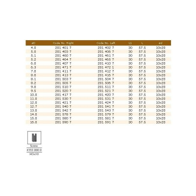 201.40.67 HM свредло D5X30 LT57.5 LH DIMAR - Цена: 17.04 лв.