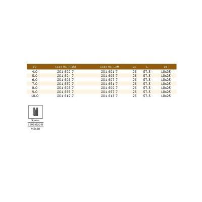 201.61.47 HM свредло проходно D5X40 LT70 RH DIMAR - Цена: 24.30 лв.