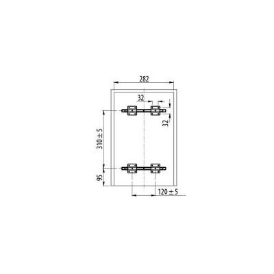 Кошче за разделно събиране за вграждане 3Х10L шкаф 300 мм - GTV - Цена: 112.20 лв.