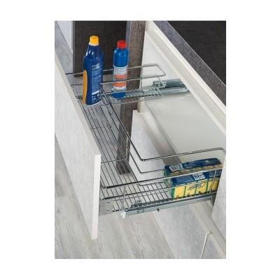 Кошница за под мивка с тандемен водач пълно изтегляне и плавно прибиране S-2353 - STARAX - Цена: 96.60 лв.