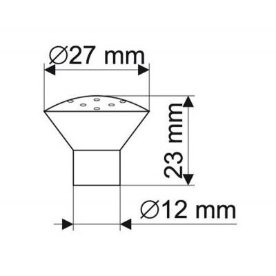 Мебелна дръжка GA28 - GAMET - Цена: 2.40 лв.