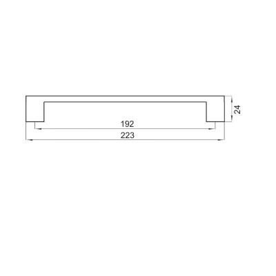 Мебелна дръжка 1004 - Цена: 10.20 лв.