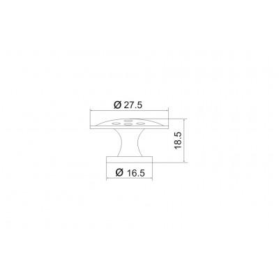 Мебелна дръжка 5052 - OZKM - Цена: 1.02 лв.