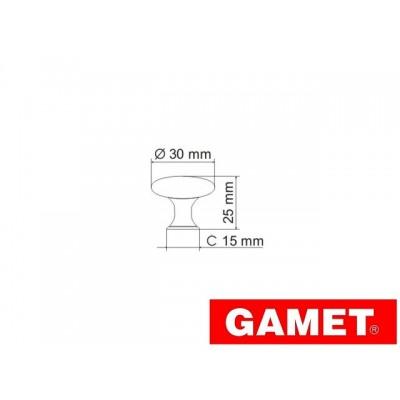 Мебелна дръжка GN67 - GAMET - Цена: 2.40 лв.