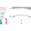 Мебелна дръжка 347/11 - Citterio Line (Italy) - Цена: 11.40 лв.