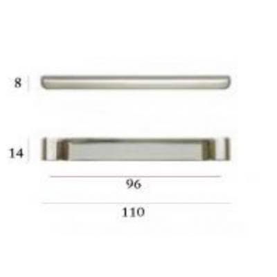 Мебелна дръжка 351/31 - Citterio Line (Italy) - Цена: 3.30 лв.