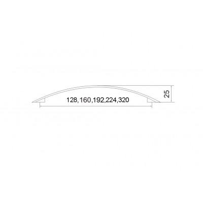 Дръжка 402 - ИНОКС - Цена: 3.36 лв.