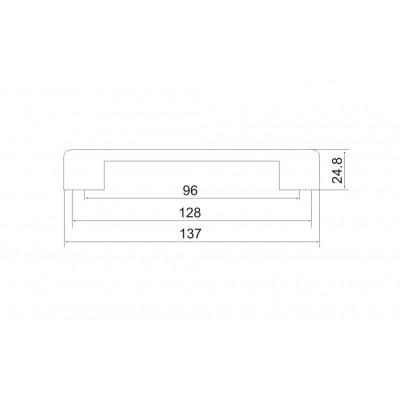 Мебелна дръжка 5152 - Цена: 3.00 лв.