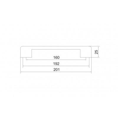Мебелна дръжка 5153 - Цена: 3.60 лв.