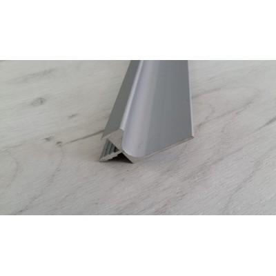 Кант дръжка алуминиева за кухня 3000мм - Цена: