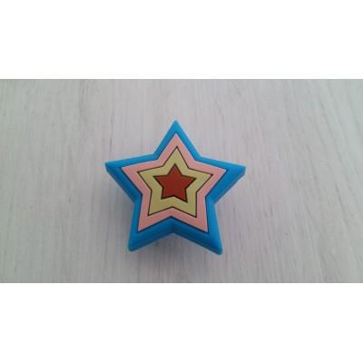 Детска гумирана дръжка - звезда - Цена: 2.40 лв.