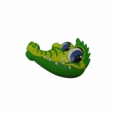 Детска гумирана дръжка - крокодил - Цена: 3.00 лв.