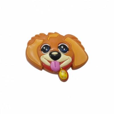 Детска гумирана дръжка - куче - Цена: 2.40 лв.