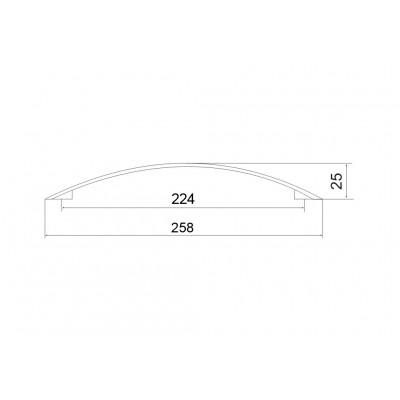 Дръжка 4022а - 224мм - Цена: 5.82 лв.