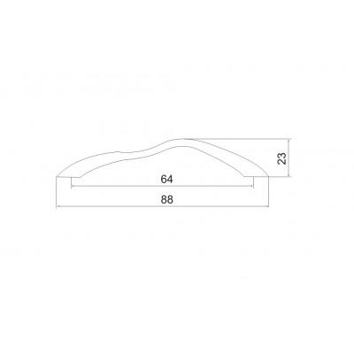 Мебелна дръжка 5014 64мм - OZKM - Цена: 1.08 лв.