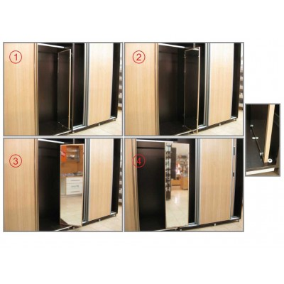 Механизъм за вграждане на огледало в гардероб - Цена: 36.00 лв.