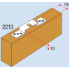Ролки за плъзгаща интериорна врата лека серия - VILLES ITALY - Цена: 9.48 лв.