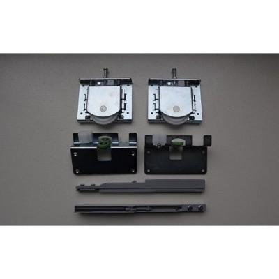 Mеханизъм за 1 врата с 2  успокоитела долно водене - Цена: 28.80 лв.