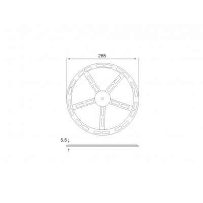 ПВЦ въртящ механизъм - Цена: 3.36 лв.