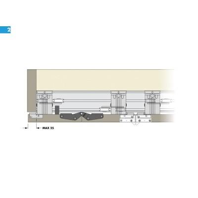 Система за сгъващи се и плъзгащи врати PS11 - CINETTO ITALY - Цена: 99.60 лв.