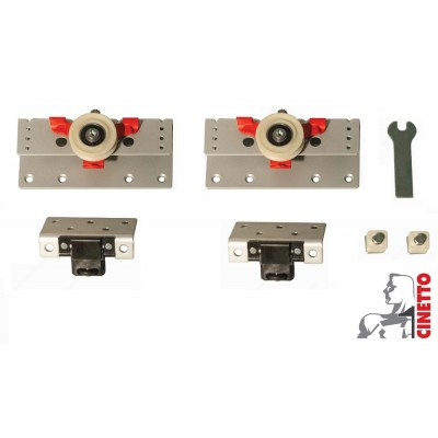 Система за плъзгащи врати,товароносимост 80 кг. PS48 - CINETTO ITALY - Цена: 16.80 лв.