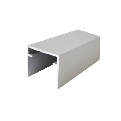 Горна единична алуминиева релса - 3000 мм - Цена: 10.20 лв.