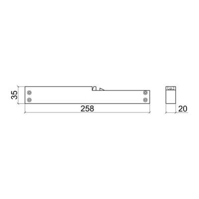 Плавно затваряне за SFT05 - MEPA - Цена: 21.60 лв.