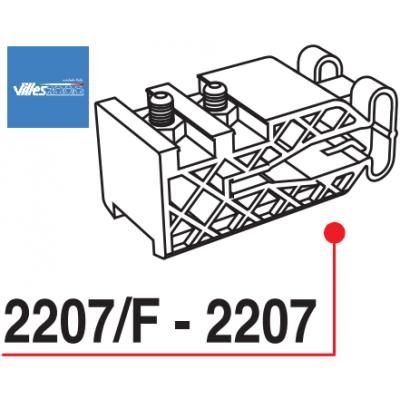 Стопер за плъзгащи се интериорни врати - VILLES ITALY - Цена: 3.12 лв.