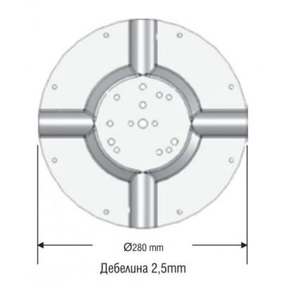 Конектор Ø280 мм - Цена: 13.02 лв.