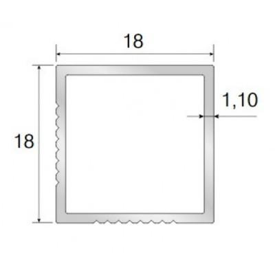 Алуминиев профил-държач за подмивков шкаф - Цена: 4.20 лв.
