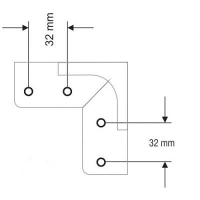 Метална свързваща траверса - Цена: 6.30 лв.