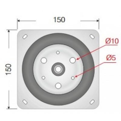Метален въртящ механизъм - Цена: 7.20 лв.