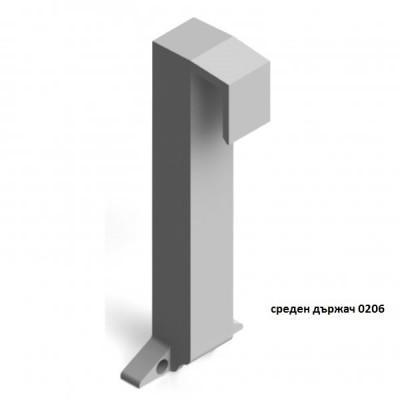 Сглобка за ПВЦ профил-разделител за чекмедже - Цена: 0.24 лв.