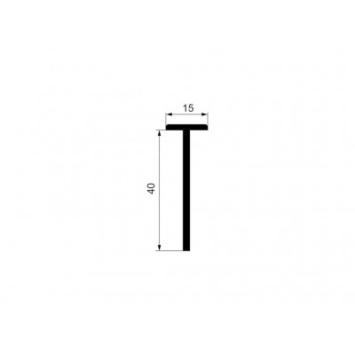 Конектор кант Т-образен 4см - 3000мм - Цена: 8.28 лв.