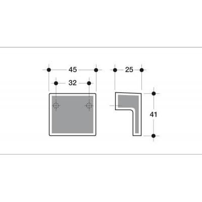 Мебелна дръжка 603 - Цена: 5.52 лв.