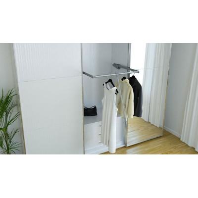 Падащ лост за гардероб с плавно прибиране - Цена: 37.20 лв.