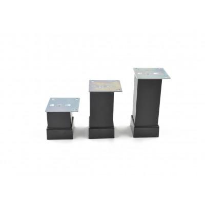 Алуминиев регулируем крак 40х40 - Черен мат - Цена: 1.80 лв.