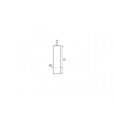 Метален дистанционер Ø42 - ХРОМ - Цена: 4.08 лв.