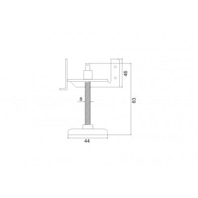 Крак за вътрешен реглаж МВ-03 - Цена: 4.44 лв.